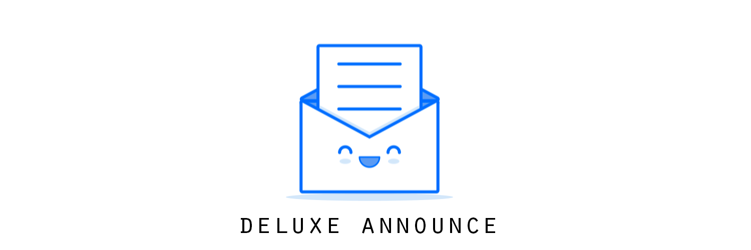 Deluxe Announce